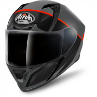 Airoh Valor Eclipse full face helmet orange matt