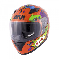 Givi full face kid helmet J.04 Junior 4 gloss red multicolor