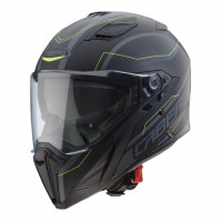 Caberg Jackal Supra full face helmet Black Anthracite Yellow Fluo