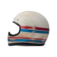 DMD jet helmet Handmade Line white