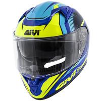 Givi 50.6 Stoccarda full face helmet blue yellow