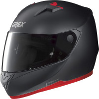 Grex G6.2 K-SPORT full face helmet Matt Black Red