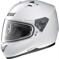 Grex G6.2 KINETIC full face helmet Metal White