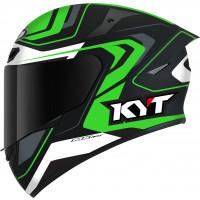 Kyt TT-COURSE OVERTECH full face helmet Black Green