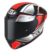 Kyt TT-COURSE TOURIST Full Face Helmet Fluo Red