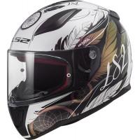 LS2 FF353 RAPID BOHO WHITE BLACK PINK full face helmet