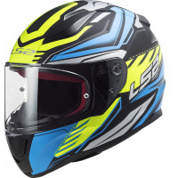LS2 FF353 RAPID GALE MATT BLACK BLUE YELLOW full face helmet