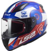 LS2 FF353 RAPID STRATUS GLOSS BLUE RED WHITE full face helmet