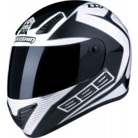 Marushin 999 RS Confort full face helmet fiber white Black