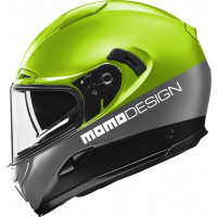 Momo Design HORNET full face helmet FLUO YELLOW