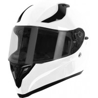 Origine Strada Solid Gloss White full face helmet