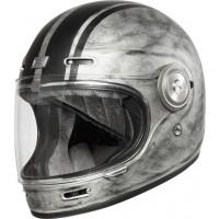 Origine Vega Custom full face helmet fiber Matt Silver