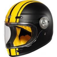 Origine Vega Custom full face helmet yellow Matt Black