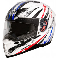 Premier Vyrus AV1 full face helmet White Black Red Blue