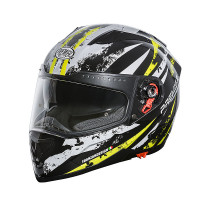 Premier Vyrus AV1 full face helmet White Black Yellow