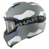 Integral Motorcycle Helmet Shark VANCORE WIPEOUT Matt Anthracite