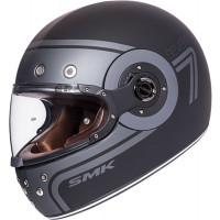 SMK Eldorado SEVEN full face helmet Matt Black Grey