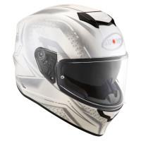 Suomy Stellar Shade Full Face Helmet White Gray