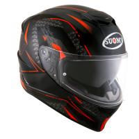 Suomy Stellar Shade Full Face Helmet Black Red