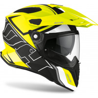 Airoh Commander Duo full face helmet yellow matt