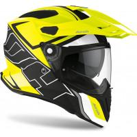Airoh Commander Duo full face helmet yellow matt