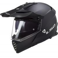LS2 MX436 PIONEER EVO full face touring helmet MATT BLACK