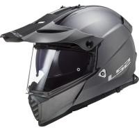 LS2 MX436 PIONEER EVO full face touring helmet MATT TITANIUM