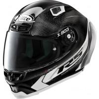 X-Lite X-803 RS Ultra Carbon HOT LAP full face helmet Carbon White