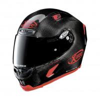 X-Lite X-803 Ultra Carbon PURO SPORT full face helmet fiber Carbon Red