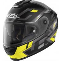 X-Lite X-903 IMPETUS N-COM full face helmet matt Black Yellow