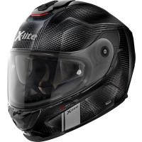 X-Lite X-903 Ultra Carbon MODERN CLASS N-COM full face helmet fiber Black Carbon with microlock