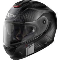 X-Lite X-903 Ultra Carbon MODERN CLASS N-COM full face helmet fiber Matt Black Carbon with DD