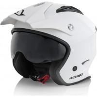 Acerbis Aria jet helmet White