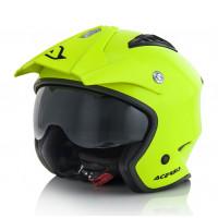 Acerbis Aria jet helmet fluo Yellow