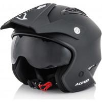 Acerbis Aria jet helmet matt Black