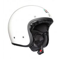 AGV Legends X70 E2205 Solid jet helmet fiber White