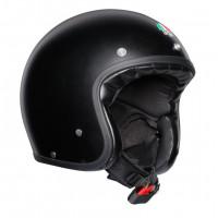 AGV Legends X70 E2205 Solid jet helmet fiber Matt Black