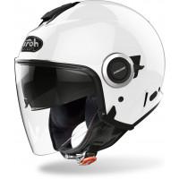 Airoh Helios Color jet helmet white gloss