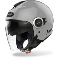 Airoh Helios Color jet helmet concrete grey matt