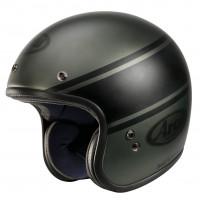 Arai Jet helmet FREEWAY CLASSIC BANDAGE fiber Green
