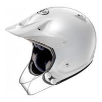 Arai Trial helmet PENTA PRO with guard fiber White