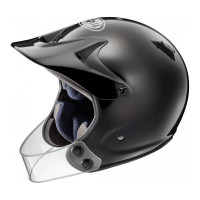 Arai Trial helmet PENTA PRO with guard fiber Black
