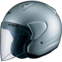 Arai jet helmet SZ-F fiber Aluminium Silver