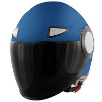 Givi J05B kid jet helmet Matt light blue