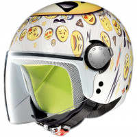 Grex G1.1 Fancy COOL bianco mini-jet kid helmet