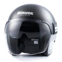 Blauer jet helmet Pod Carbon fiber carbon gloss