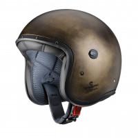 Caberg Freeride Bronze Brushed fiber jet helmet
