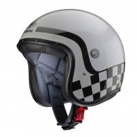 Caberg Freeride Formula fiber jet helmet light grey black