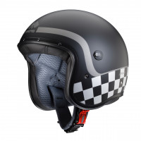 Caberg Freeride Formula fiber jet helmet matt black anthracite- silver