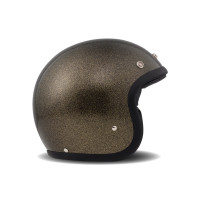DMD jet helmet Vintage Glitter bronze